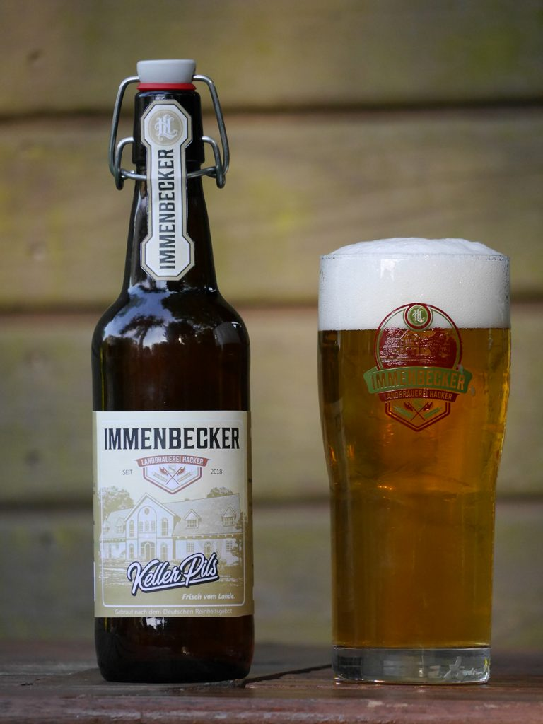 Frisches Bier Immenbecker